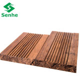 Revestimento de bambu contínuo do Decking de Carbonzied para ao ar livre