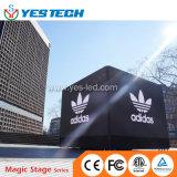 발광 다이오드 표시를 광고하는 Adidas Nmd 입방체 유럽 Outdoot