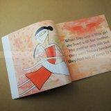 아동 도서 두꺼운 표지의 책 책 인쇄