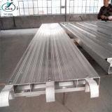 Passerelle en acier de panneau de plate-forme de /Scaffolding de planche d'échafaudage antidérapage avec le crochet