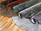 ホテルの部屋の装飾的な床のシャギーなカーペット