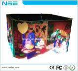 도매 HD P3.91/4.81 심천 발광 다이오드 표시 풀 컬러 실내 LED 영상