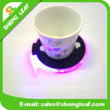 Venta caliente de Hogar de LED de acrílico personalizado Coaster de Promoción (SLF-LC002)