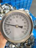 Calibro industriale bimetallico di temperatura del termometro dell'acqua calda