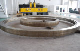 L'alto acciaio al carbonio di durezza ha forgiato l'anello per energia eolica