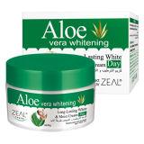 Aloés Vera &&#160 branco do cuidado de pele do zelo; Creme facial 50ml do dia de Mositurizing