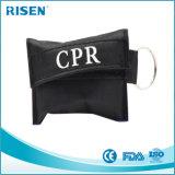 Máscara conveniente barata del CPR con el guante