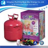 L'hélium dans le réservoir de gaz à usage unique