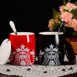 Tasse en céramique colorée respectueuse de l'environnement de lait de porcelaine de tasse de café