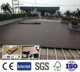 La plupart de plancher en plastique en bois du Decking du composé de produits rentables populaires/WPC/WPC