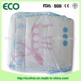 Vente chaude d'absorption de couche-culotte remplaçable élevée confortable de bébé Asie du Sud-Est et en Afrique