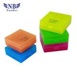 rectángulos plásticos de 1.5ml o de 2.0ml Microtubes para el estante del congelador