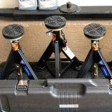 Buoni rilievi di gomma di qualità NR per il pavimento idraulico Jack di CA