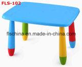 Tableau carré pour de diverses couleurs d'enfants et réglable en plastique