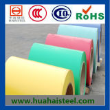 カラー上塗を施してある電流を通された鋼鉄コイルかシート(SGCC)