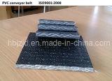 Banda transportadora resistente al fuego tejida sólida de PVC1600s