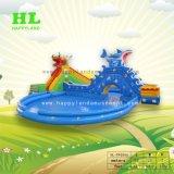 De aangepaste Volwassen Speelplaats van de Uitsmijter van het Park van het Water van Kinderen Openlucht Grote Opblaasbare