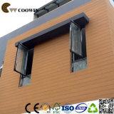 Los paneles de paredes impermeables exteriores de la construcción