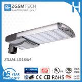 347VAC 165W LED Luminaria de Cabeza de Cobra con Célula Fotoeléctrica