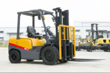 Chaud-sur-Sale le CE Approved 2.5tons Gasoline Forklift avec Factory Price
