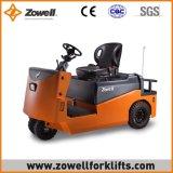 Новые продажи Zowell электрический буксировки трактора с 6 тонн тяговое усилие