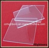 Placa grande do vidro de quartzo do silicone do polonês do espaço livre do tamanho