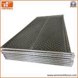 """2,375""""X2.375"""" (60mmx60мм) Сетка отверстие трубки 38мм X 16 Ga толщиной стенки6'x9.5"""" строительства стены звена цепи"""