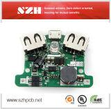 6 слоев доски управлением PCBA маски припоя 2oz 1mm медной зеленой