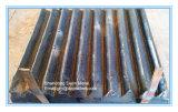 Metso, Terex, piatto della mascella del frantoio per pietre di Powerscreen Pegson per attrezzatura mineraria