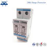 Dispositif de protection contre la foudre de pouvoir monophasé 220V de longeron DIN