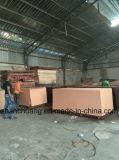 Linyi noir/brun Film confrontés pour la construction, de contreplaqué de coffrage de béton de contreplaqué, de matériau de construction en bois