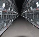 4 уровней H Type цыпленок слоя каркаса для домашней птицы фермы