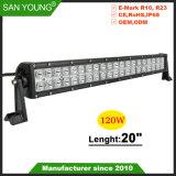 Vendas quente! 20 polegadas 120W 4X4 Barra de luz LED Offroad Barra de LED para o SUV ATV Veículo
