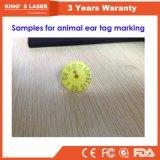Отметка 20W 30W 50W лазера волокна животной машины маркировки бирки уха портативная