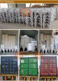 Présidence en bois de mariage de dos de croix d'hôtel extérieur classique de couleur de Limewash