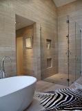 Gabinetes de banho de chuveiro em vidro sem caixilho de vidro temperado