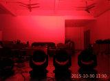 108PCS *3のワットRGBW LEDの移動ヘッドディスコDJの段階(HL-006YS)のための洗浄の効果ライト
