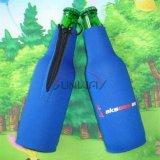 Impresos personalizados de neopreno con aislamiento de las bebidas Botella de Cerveza la camisa (BC0003)