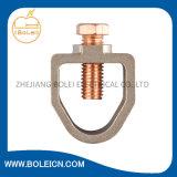 Braçadeira de Rod resistente da terra do bronze de silicone para 1/2in. Rod