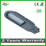 Im Freien 30W LED Straßenlaterneder Waschbrett-Form-