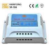 10AMP 12V 24V 48V controlador eletrônico solar para venda (SRAB10)