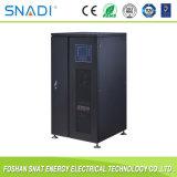 UPS intelligent en ligne de fréquence triphasée du pouvoir 10kVA-120kVA pour le générateur solaire