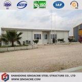 Edificio de la estructura de acero del bajo costo de China/almacén/vertiente prefabricados del almacenaje