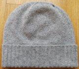 カシミヤ織の柔らかく暖かい帽子の帽子