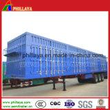 Грузовые перевозки Tri-Axle алюминия в салоне кузова грузового прицепа
