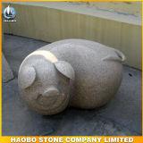 Het dierlijke In het groot Graniet Piggy van Gravures