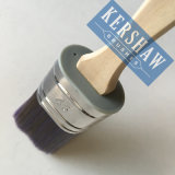 Pinceau (filament conique par brosse ovale avec la poignée, le pinceau en bois)