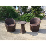 Piscina As medulas Wicker 2 cadeiras e mesa de café (FS-2011+2012)