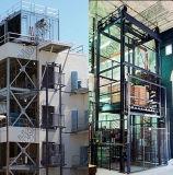 Vertical Hydraulic Lift Table Rail de guidage Used Goods Elevators