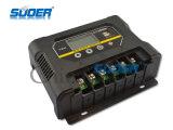 Regulador de la carga del sistema casero del panel solar de Suoer 60V 40A (ST-W6040)